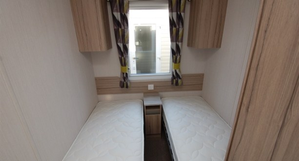 Sandycove - 2019 Swift Ardennes Twin Bedroom