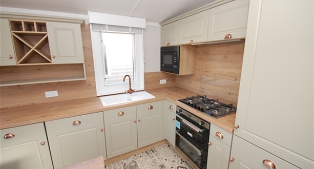 Sandycove - 2020 Swift Vendee Kitchen