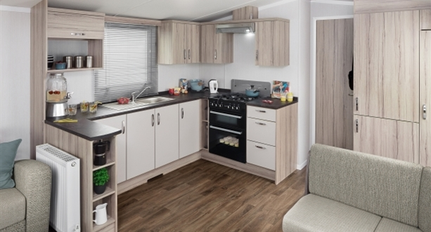 Sandycove - 2019 Swift Loire Kitchen