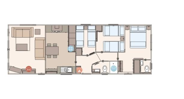 Sandycove - 2019 ABI The Ambleside 41x14x3B Floorplan