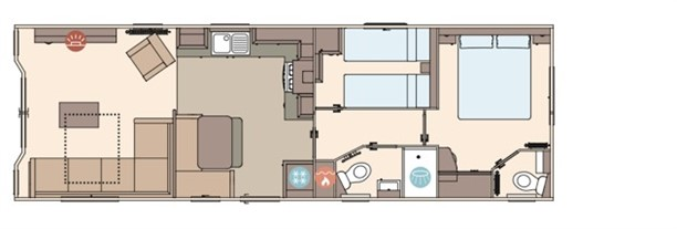 Sandycove - 2019 ABI The Blenheim 37x12x2B Floorplan