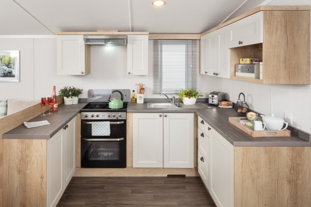 Sandycove - 2019 Swift Burgundy Kitchen