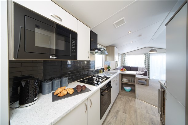Sandycove - 2019 Atlas Family Van Kitchen Closeup