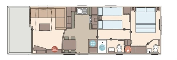 Sandycove - 2019 ABI The St. David Exclusive 38x12x2B Floorplan