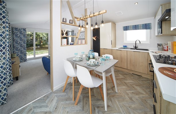 Sandycove - 2019 Atlas Trend Lodge Kitchen/Diner