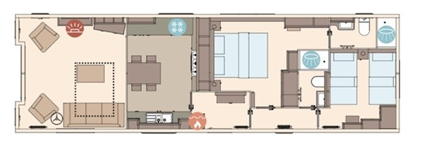 Sandycove - 2019 ABI The Westwood 43x13x2B Floorplan