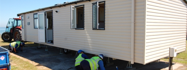 Sited Static Caravans for Sale Northern Ireland
